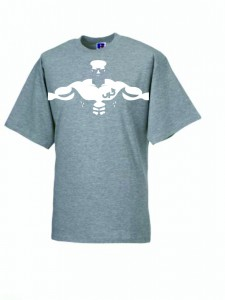 HERREN T-SHIRT UP BUFF