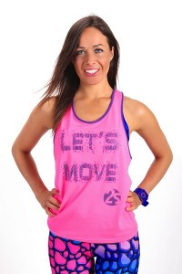Fitnesstop LET´S MOVE pink