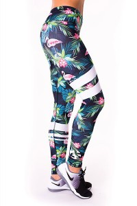Lauf Leggings BEST FLAMINGO