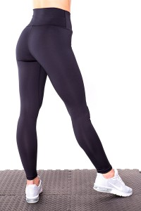 Fitness leggings BASIC Schwarz