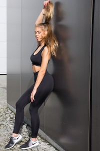 Fitness leggings BLACK NIGHT